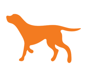 Dog icon directs to product page